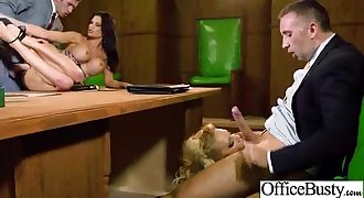 Office Big-titted Woman (jasmine loulou) Get Banged Hardcore clip-13