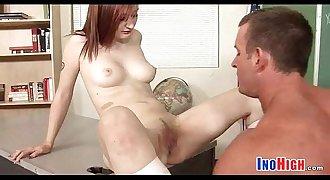 Redhead Petite schoolgirl fuck 21 85