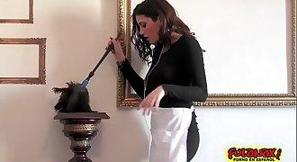 Taissia Shanti y Penelope Cum en un trio con Ass fucking