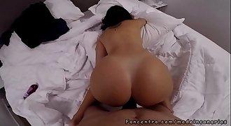 sexo anal invasion suave con jovencita cachonda y con gaping